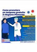 Come prenotare un tampone gratuito in Regione Piemonte